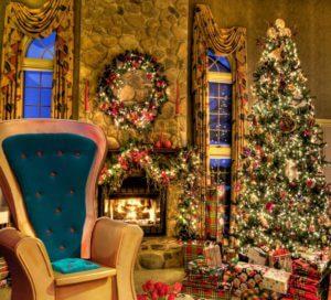 kerstmanbezoek